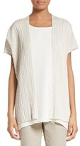 Lafayette 148 New York Women's Pleated Sweater Vest