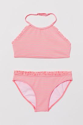 H&M Seersucker bikini
