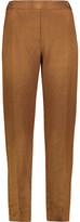 MM6 MAISON MARGIELA Linen-Blend Tapered Pants
