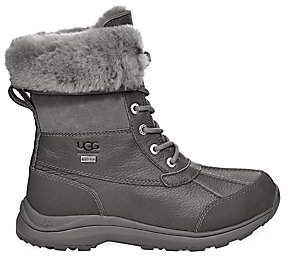 UGG Women's Adirondack III Faux Shearling-Lined Leather Boots