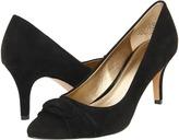 Circa Joan & David Atlee (Black Suede) - Footwear
