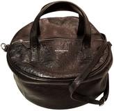 Balenciaga Air Hobo Black Leather Handbags