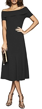 Reiss Melissa Bateau Neck Knit Dress