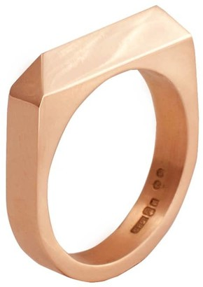 Edge Only Rooftop Ring in 14ct Gold