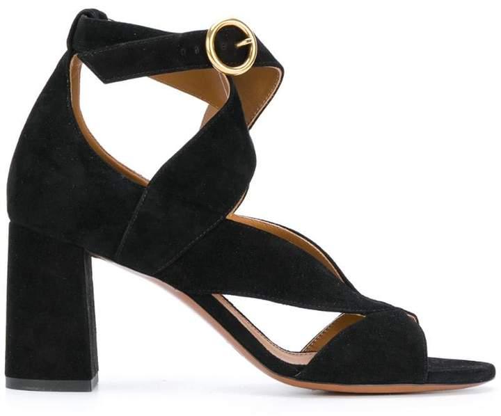 Chloé Graphic leaves sandals