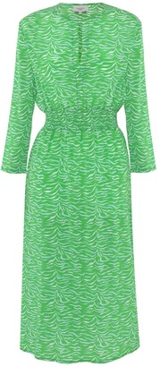 Primrose Park Tiffany Flattering V Neck Dress - small