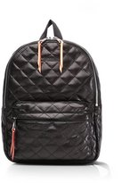 M Z Wallace Mini Metro Backpack Black Leather