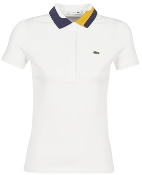 Lacoste PF8660 women's Polo shirt in White