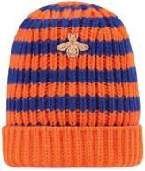 Gucci Striped wool hat