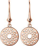 Links of London Timeless 18ct rose-gold earrings