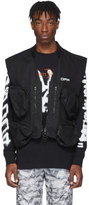 Off-White Black Tactical Vest