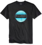 Billabong Men's Park Circle Graphic-Print Logo Cotton T-Shirt