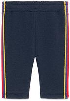 Gucci Web Trim Jogger Pants, Size 6-36 Months