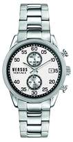Versus By Versace Men's 'SHOREDITCH' Quartz Stainless Steel Casual Watch, Color:Silver-Toned (Model: S66020016)