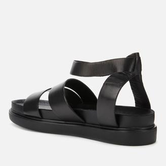 Vagabond Women's Erin Leather Flat Sandals