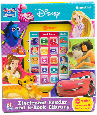 Electronic Me Reader And 8 Book Library