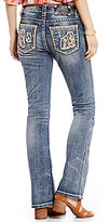 Miss Me Blown Out Pocket Stretch Denim Bootcut Jeans