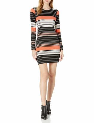 Karen Kane Women's Ensenada Stripe Dress L