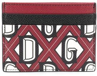 Dolce & Gabbana Logo Printed Cardholder