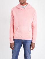 The Elder Statesman Fleece cotton hoody