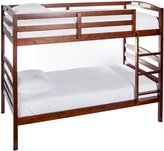 Dream On Me Nova 2-in-1 Twin Over Bunk Bed, Mahogany