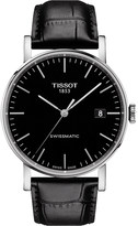 Tissot T109.407.16.051.00 Everytime stainless steel and leather watch