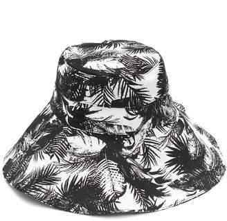 Vince Camuto Oversized Brim Fabric Bucket Hat