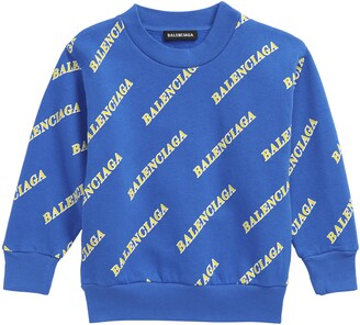Balenciaga Kids' Sporty Logo Sweatshirt