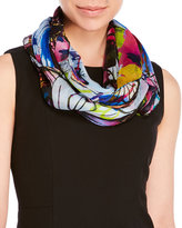 Christian Lacroix Printed Woven Silk Scarf