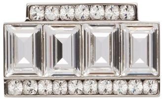 Miu Miu Crystal-Embellished Brooch