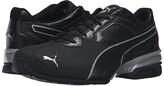 Puma Tazon 6 FM Black Silver) Men's Shoes