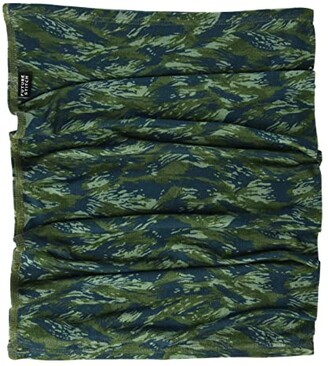 Future Stitch Camo Gaiter (Green) Scarves