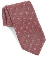 Eton Men's Paisley Silk & Linen Tie