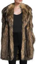 RED Valentino Women's Faux Fur Coat