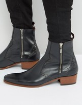Jeffery West Carlito Western Zip Boots
