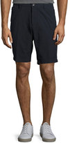HUGO BOSS Cotton Seersucker Shorts, Navy