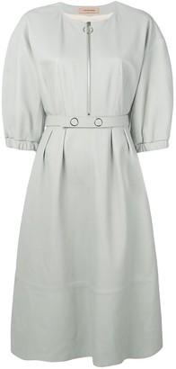 Yves Salomon leather dress