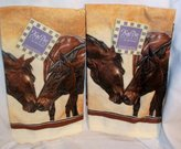 Kay Dee Designs Kissing Horses Set of 2 By Mary Verrandeaux