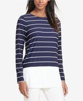 Lauren Ralph Lauren Striped Jersey Shirt