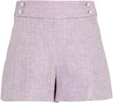 Veronica Beard Kimm Linen Suiting Shorts