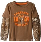 Carhartt Kids Hunt Club Layered Tee (Toddler)