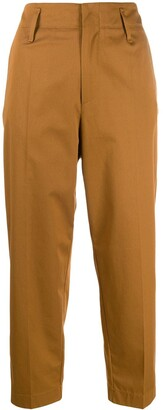 Forte Forte High-Rise Cropped Trousers