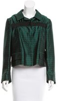 Dries Van Noten Jacquard Silk Jacket