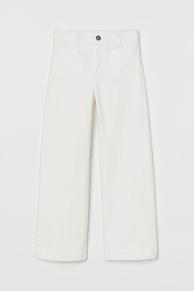 H&M Ankle-length twill trousers