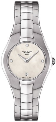 Tissot Women's T-Round Diamond Watch, 25mm - 0.015 ctw