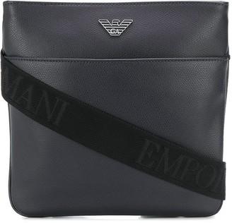 Emporio Armani Eagle Logo Shoulder Bag