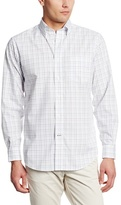 Nautica Men's Wrinkle-Resistant Window Pane Shirt