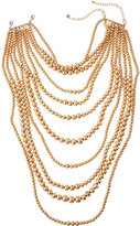 Lydell NYC Layered Multi-Strand Beaded Statement Choker Necklace