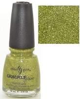 China Glaze Jade-d 80557 Crackle Glitter Nail Polish by