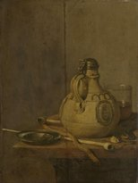 The Museum Outlet - Still life with ceramic jug - 1647 - Poster Print Online ( Poster)